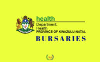 KwaZulu-Natal Department of Health Bursary South Africa