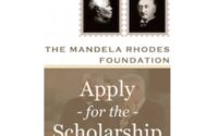 Mandela Rhodes Foundation Scholarship South Africa