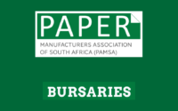 Paper Manufacturers Association of South Africa (PAMSA) Bursary