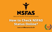 How to Check NSFAS Status Online