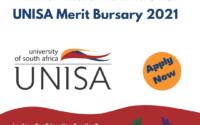 UNISA Merit Bursary 2021