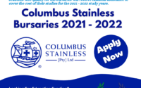 Columbus Stainless Bursaries