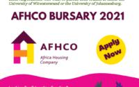 AFHCO Bursary 2021
