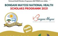 Bongani Mayosi National Health Scholars Programm