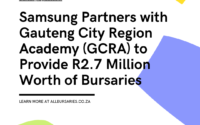Samsung Partners with GCRA to Provide R2.7 Million Worth of Bursaries